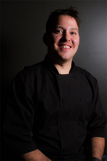 Head Chef and co-owner of Tavern West, Ryan Worthen.